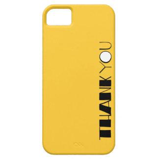 Grande gracias el iPhone negro 5 de la casamata iPhone 5 Funda
