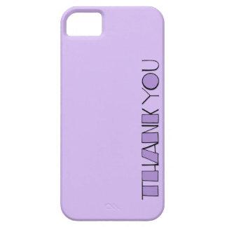 Grande gracias el iPhone púrpura 5 de la casamata Funda Para iPhone 5 Barely There