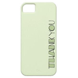 Grande gracias el iPhone verde 5 de la casamata ID iPhone 5 Carcasa
