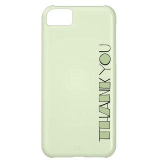 Grande gracias el iPhone verde 5 de la casamata ID