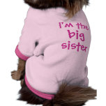 grande, hermana, soy camisas de perritos