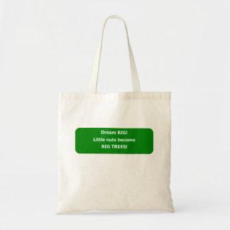 Grande ideal bolsas lienzo