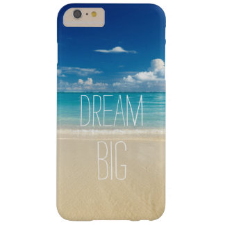 Grande ideal - cita inspirada y de motivación funda para iPhone 6 plus barely there