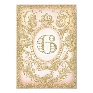 """Grande ideal del sexto cumpleaños invitación 5"""" x 7"""""""