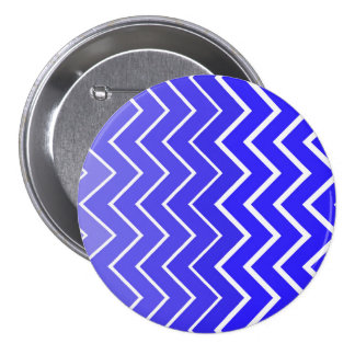 Grande, imagen redonda del zigzag del botón de 3 pin redondo de 3 pulgadas