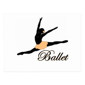 Grande Jete Ballet Postcard
