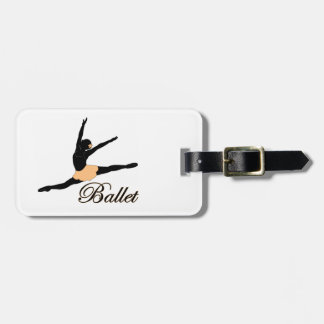 Grande Jete Ballet Tag For Luggage