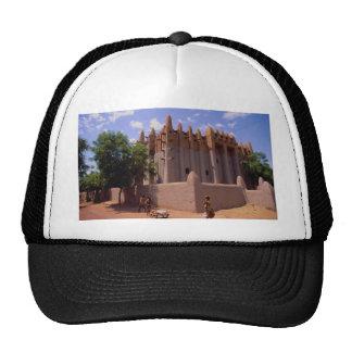 Grande Mosque, Sundanese type architecture, Mopti, Trucker Hat