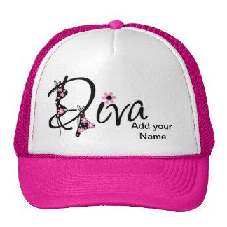 ¡Grande personalizada gorra de la diva para las va