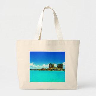 Grande playa esmeralda del hotel de Destin la Flor Bolsa Tela Grande