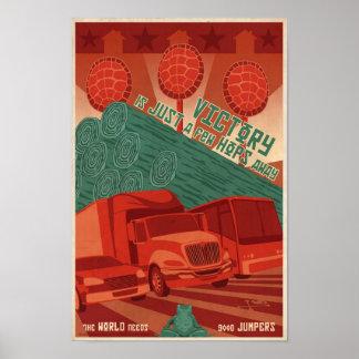 Grande - poster de la propaganda del juego de arca