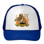 Grande - regalos de abuelo del fútbol del día de p gorras de camionero