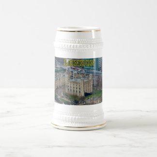 ¡Grande! Torre de Londres Inglaterra Jarra De Cerveza