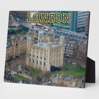¡Grande Torre de Londres Inglaterra Placa Para Mostrar