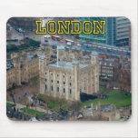 ¡Grande! Torre de Londres Inglaterra Tapete De Raton