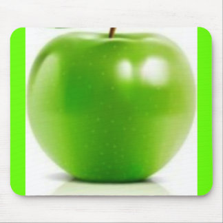 grande-verde-Apple Tapete De Ratones