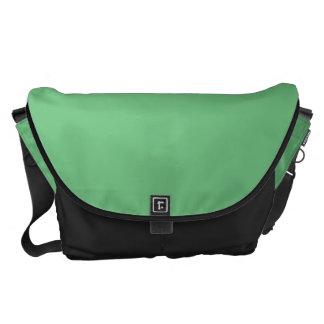Grande verde bolsa de mensajeria