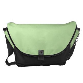 Grande verde claro bolsas de mensajería