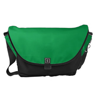 Grande verde del trébol bolsa de mensajería