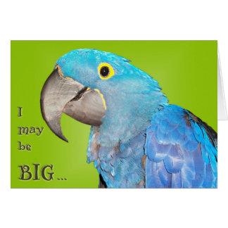 Grande y adorable tarjeta de felicitación