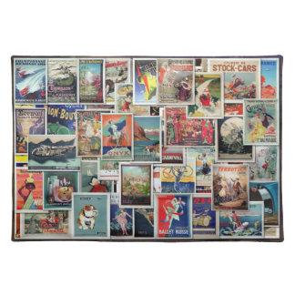 Grandes anuncios del vintage - viaje y ocio #1, am mantel