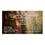 Grandes árboles, arboleda de Mariposa, California, Plantilla De Tarjeta Personal