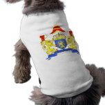 Grandes armes Pays Bas, Netherlands Dog Clothing