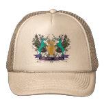 Grandes daneses cons alas del escudo gorra