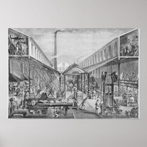 Grandes industrias, talleres de la construcción posters