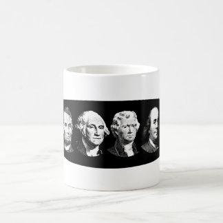 Grandes líderes americanos taza de café