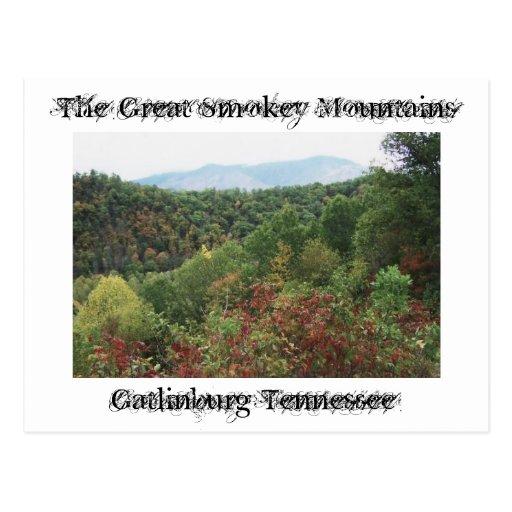 Grandes montañas de Smokey Postal