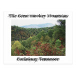 Grandes montañas de Smokey Tarjeta Postal