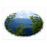 Grandes montañas de Smokey Tarjetas Postales