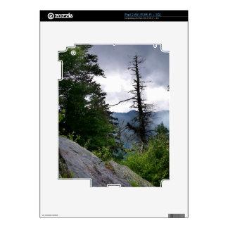 Grandes Montañas Humeantes de los tops de chimenea Calcomanía Para iPad 2