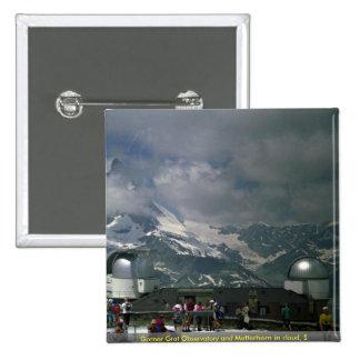 Grandes observatorio y Cervino de Gorner en la nub Pin