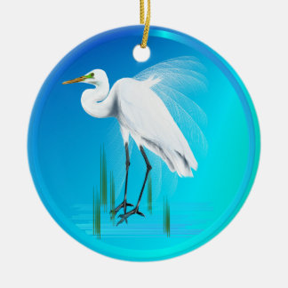 Grandes ornamentos del Egret Ornatos