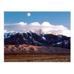 Grandes parque nacional y coto de las dunas de postal