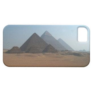 Grandes pirámides de Giza iPhone 5 Carcasas