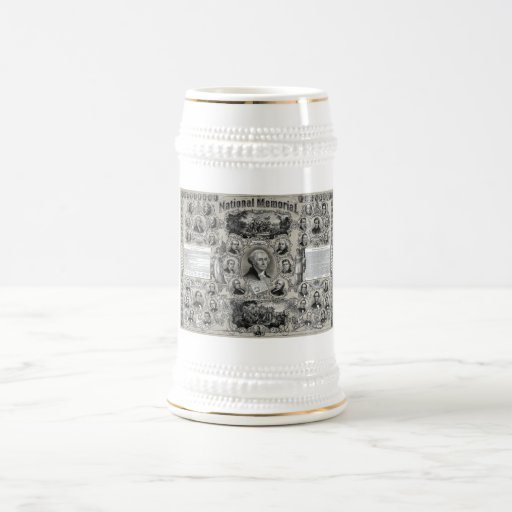 Grandes presidentes americanos jarra de cerveza