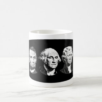 Grandes presidentes de los E.E.U.U. Tazas De Café