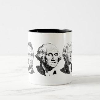 Grandes presidentes Design de los E.E.U.U. Tazas
