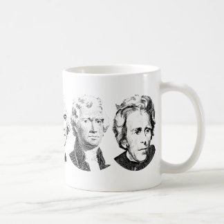 Grandes presidentes Design de los E.E.U.U. Taza