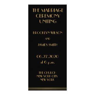 Grandes programas del oro y del boda de Gatsby del Lonas Personalizadas