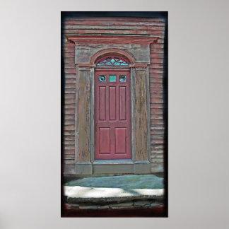 Grandes puertas #2 de Nueva Inglaterra Póster