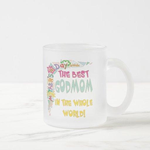Grandes regalos del día de madres taza cristal mate