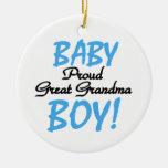 Grandes regalos orgullosos del bebé de la abuela adorno