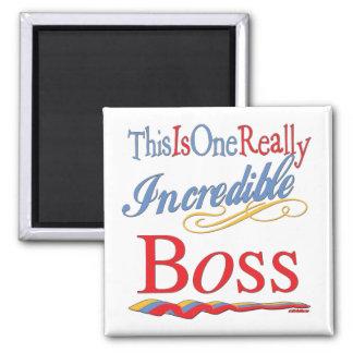 Grandes regalos para Boss Imán De Frigorifico