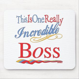 Grandes regalos para Boss Tapetes De Ratón