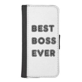 ¡Grandes regalos para el mejor jefe! Sorprenda a Fundas Billetera De iPhone 5
