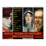Grandes viajes del calendario de la historia 2015